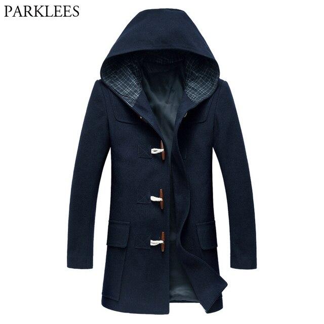 1d742c624 manteau homme laine capuche,ONE STEP Manteau 脿 capuche en laine Noir 1