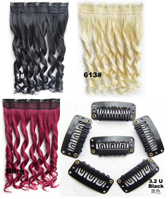 10baglot Hair Extension Clip Metal Clip Wig Clip For Hair Extension