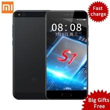 Оригинал xiaomi mi mi5c 5c смартфон 3 ГБ ram 64 ГБ rom 5.15 «шишка S1 Окта основные 1920×1080 Отпечатков Пальцев ID MIUI 8 Быстрая Зарядка