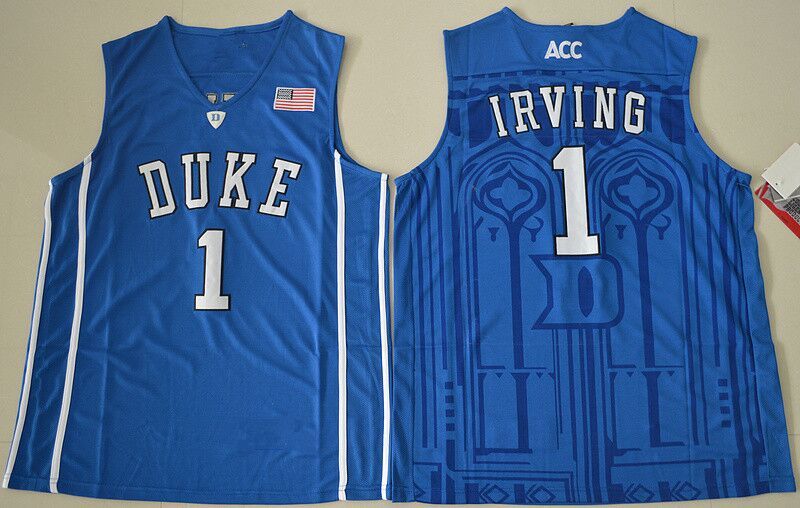 ... Aliexpress.com Buy 1 Kyrie Irving Duke Blue Devils College Basketball  Jerseys from Reliable basketball ... 8e24ac42e