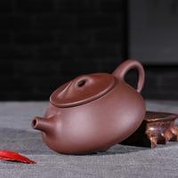 H-088 custom gift bedrijf Jingzhou steen scoop paarse klei theepot theepot groothandel Yixing Kung Fu Thee Set
