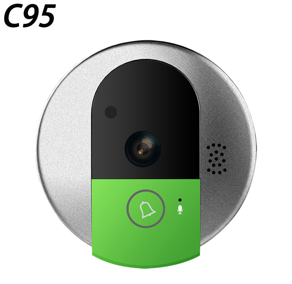 Vstarcam Wireless Door Bell HD 720P Two Way Audio Night Vision Wide Angle Video WiFi Security Doorbell Camera C95/C95-TZ free shipping flight controll gyro 3d avcs for fixed fpv half set for eagle a3 super ii k5bo