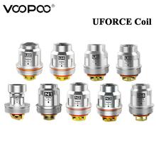 5 sztuk partia VOOPOO Uforce U2 U4 U6 U8 N1 N2 N3 P2 D4 cewka rdzeń głowy Fit Voopoo Uforce zbiornik Voopoo przeciągnij 2 Voopoo przeciągnij mini Vape Kit tanie tanio VOOPOO UFORCE Coil Metal Wymienne VOOPOO UFORCE Tank 0 4ohm Dual Coil 0 23ohm Quadruple 0 15ohm 0 13ohm 0 3ohm 0 2ohm 0 6ohm