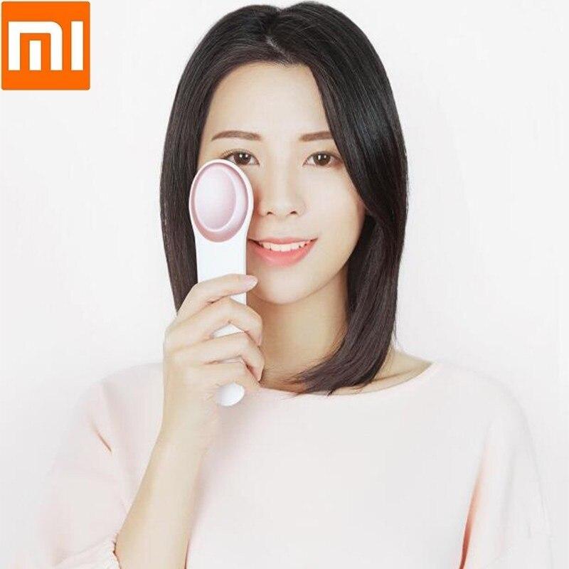 Xiaomi froid chaud masseur pour les yeux contrôle de température intelligent automatique enlever les sacs pour les yeux cernes capteur oculaire vibration masseur pour les yeux