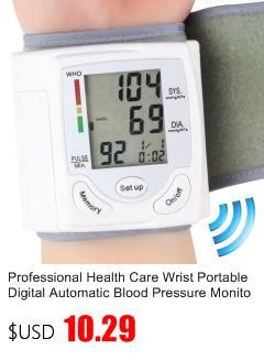 Gustala Automatic Digital Sphygmomanometer Wrist Cuff Arm Blood Pressure Monitor Meter Gauge Measure Portable Bracelet Device 1