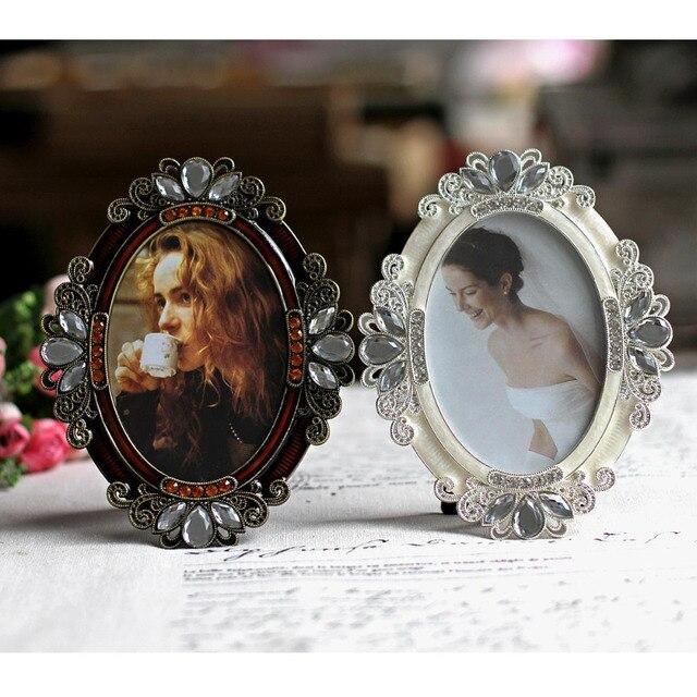5 pulgadas oval metal marcos mejor para los regalos a su amante, la ...