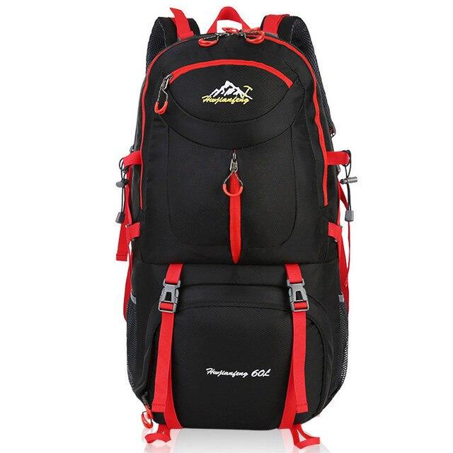 11b881bb7b1ba 40L 50L 60L Große Kapazität Mode Männer Rucksack Wasserdichte Reise Rucksack  Multifunktionale Taschen Männlichen