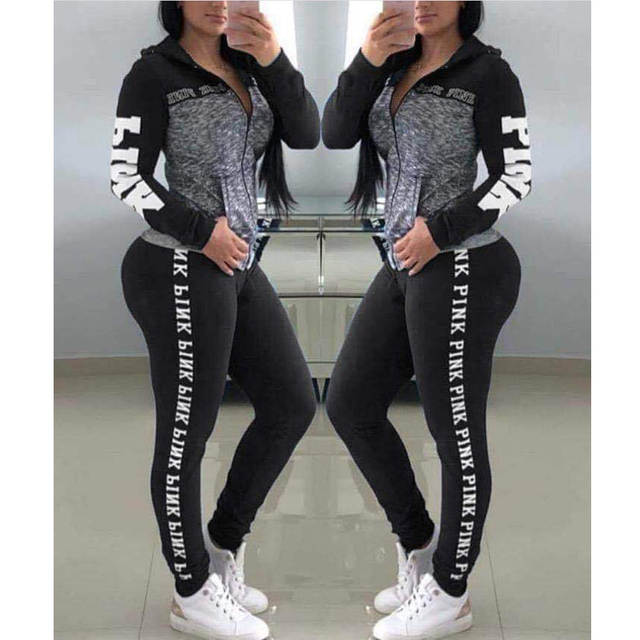 factory authentic crazy price differently PINK Litter Women Yoga Sets Sport Top+Yoga Pants Fitness Clothing Sportwear  Women Yoga Suit Sports Wear For Women Gym Clothing