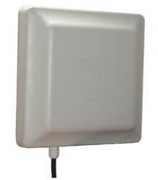 Com 10 de pvc etiquetas UHF MAX 7 m faixa de leitura de Longo alcance passiva leitor rfid uhf WG26/lector de Largo Alcance de controle de RFID acceso
