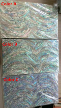 Natural mother of pearl shell laminate for musical instrument and furniture inlay
