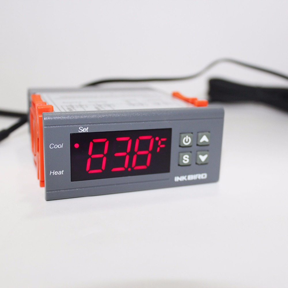 Inkbird 1000 220v All-Purpose Digital temperature Controller ITC- Cool And Heat Thermostat with sensor heater thermostat fan digital stc 1000 220v all purpose temperature controller thermostat with sensor