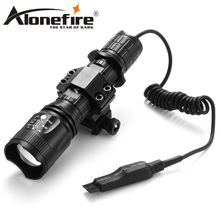 AloneFire TK400 XML L2 led hunting Tactics torch light led flashlight Pressure Switch Mount Hunting Rifle Torch Lighting