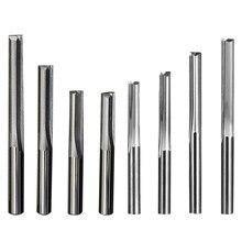 2 frez trzpieniowy węglik wolframu 4/6mm chwyt prosty frez trzpieniowy CNC trwałe frezy do grawerowania