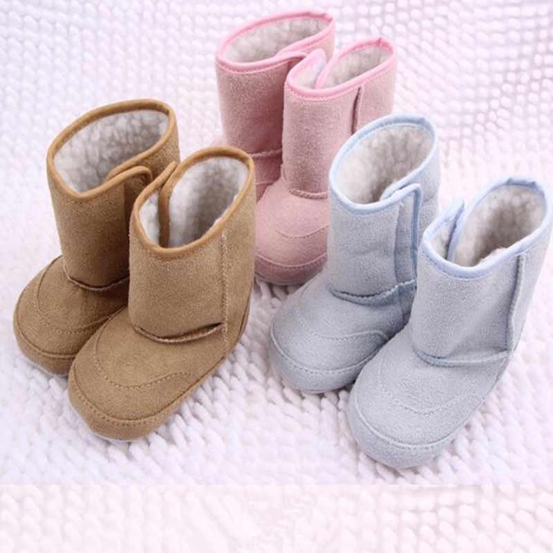 Zapatos De bebé De invierno Zapatillas De algodón transpirable suave primeros caminantes Sapatinhos De Bebe Menina zapatos De bebé recién nacido botas para niños