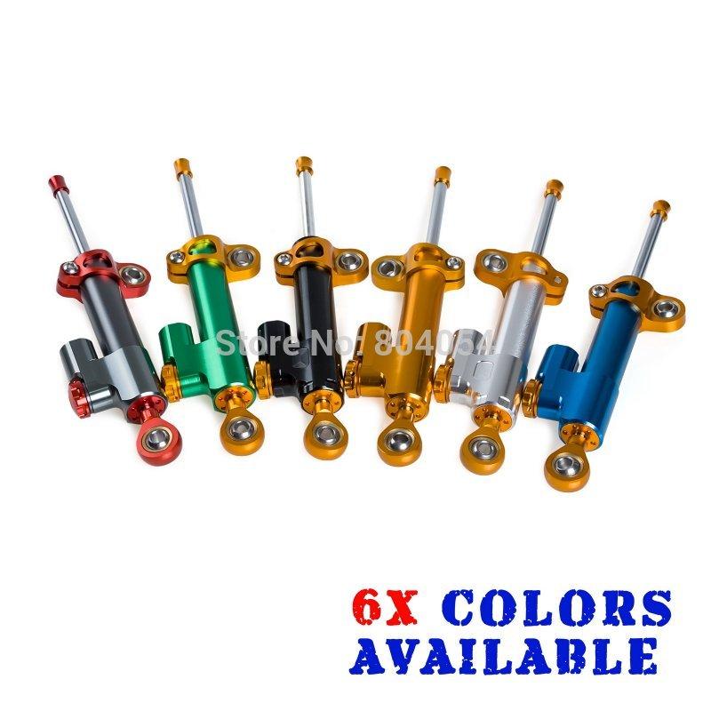ФОТО CNC Adjustable Steering Damper For Honda CBR250R CBR600RR CBR900RR CBR1000RR CB400 CB1300 Motorcycles Supplies