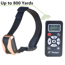 Anti-bark Collar electronic Dog collar Training Shock Collar With 800m Remote Control Electric Shock Large Dog Training Collar