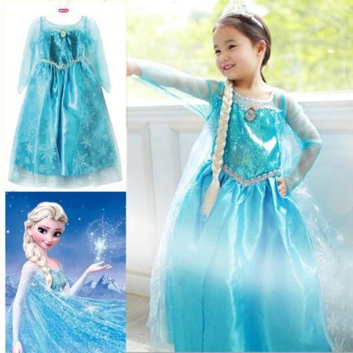 Promotion-High-Quality-Girls-Princess-Anna-Elsa-Cosplay-Costume-Kids-Party-Dress-SZ-3-8Y-3