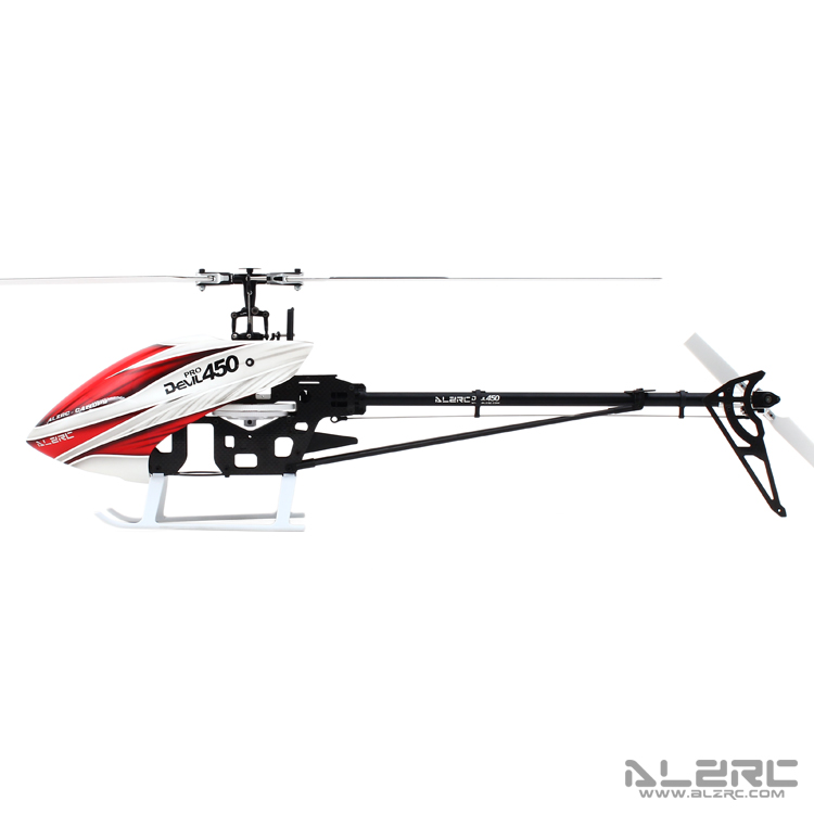 ALZRC-Devil 450 Pro V2 FBL Combo RC Helicopter KIT Aircraft RC Electric Helicopter Frame kit Power-driven Helicopter Drone tarot 450 pro v2 fbl fbl rc heli tl20006 w devo 12s rtf