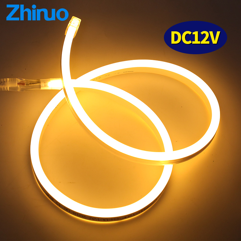 LED Strip 12V SMD2835 Waterproof Aquarium Lighting Flexible Neon Light DC  Low Voltage Ribbon Lights Ambilight Cord LED Strips