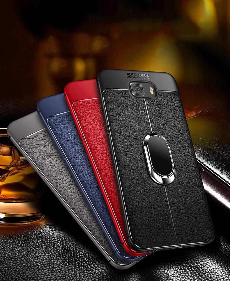Luxury Soft Cover For Samsung Galaxy S10 S8 S9 Plus Lite S7 Edge With Car Holder Case For Samsung Note 8 Note 9 S10 Cover
