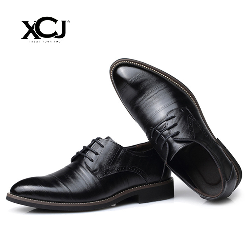 где купить Men Casual Shoes Genuine Split Leather Brand Men Shoes Men Flats Men Sneakers Dress Shoes Spring Autumn Plus Big Size 47 48 XCJ по лучшей цене