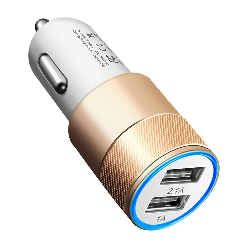 Dual USB SUV Car Charger For Xiaomi Mi 9 8 Lite A2 A1 F1 5 5S Plus Redmi Note 7 Pro 6 5 4 4X 4A 5A 6A Adapter Chargers Cargador (4)