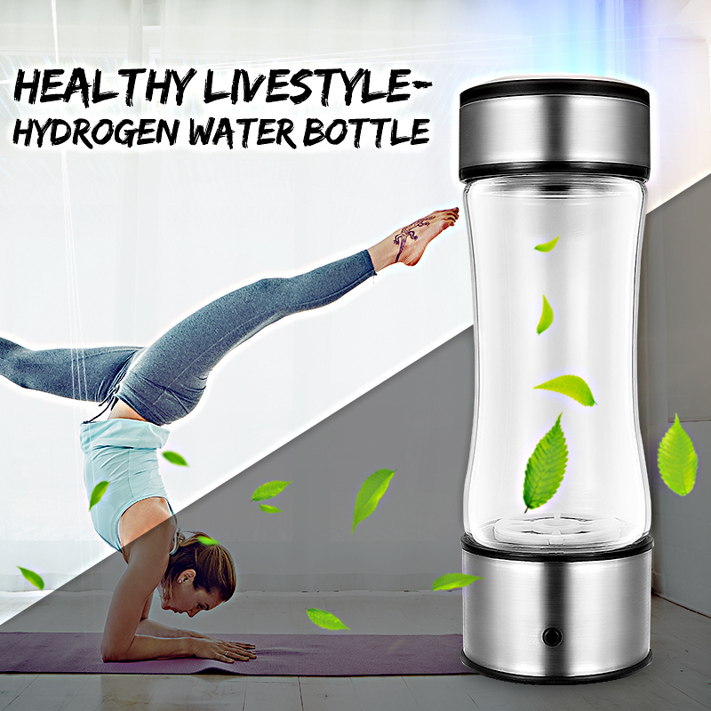 420ml for Hydrogen-Rich Water Cup Portable USB Rechargeable Camping Portable Insulation Cup Drink for Hydrogen Water new arrival hydrogen generator hydrogen rich water machine hydrogen generating maker water filters ionizer 2 0l 100 240v 5w hot