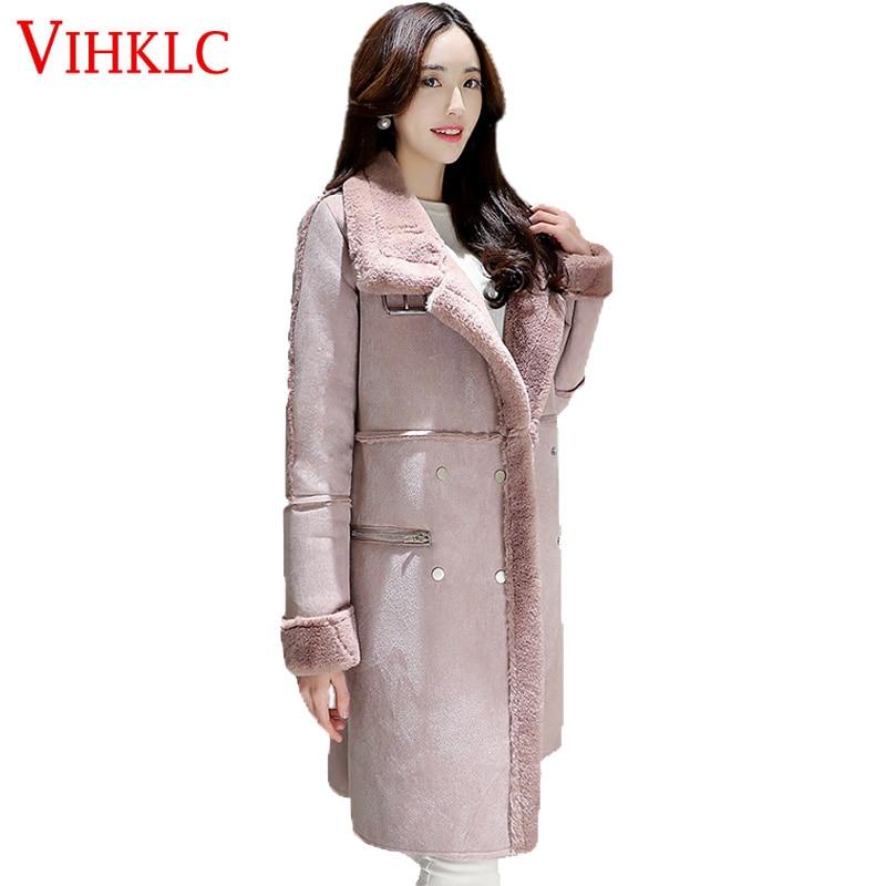 Top pink Taille Grande L51 Hiver Veste Gray De Femmes Mode Long Nouveau 2017 Stand Slim Lady D'hiver Coat Style Parkas Up Moyen qPF7q1Tx