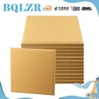 BQLZR 12 Pieces Light Yellow 30x30x2.5cm Home Deco Sound Absorbing Panels