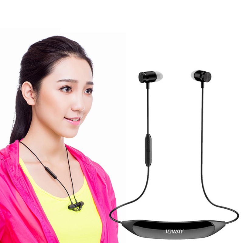 Wireless Sweatproof Sport Headphones Bluetooth stereo music earphone with mic and Neckband Massage function for iPhone Samsung mllse anime detective conan bluetooth earphone sport wireless headphones stereo bluetooth headset with mic for iphone samsung