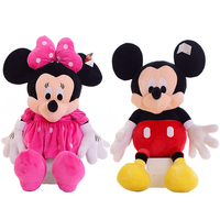 1pc Hot Sale 50cm Classic Mickey Mouse Minnie Mouse Stuffed Animal Cartoon Plush Toys For Children