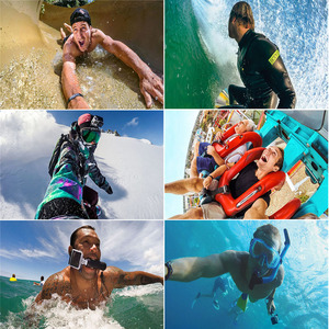 Image 5 - Touch Diving Mobile Phone Case Storage Bags Touch Waterproof  for Gopro hero Program 170 Degree Wide Angle Lens for iPhone
