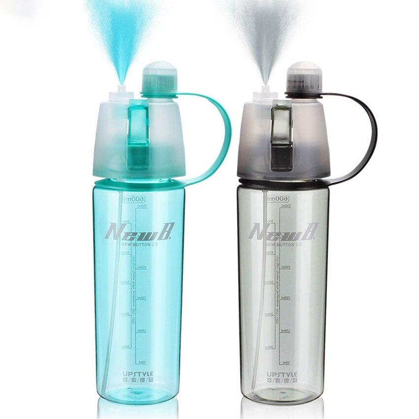 Hervidor de agua de plástico Tritan con tapa de filtro de labios de 400 ML/600 ML