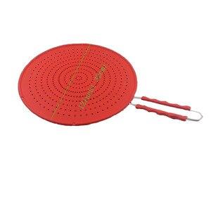Image 4 - Pantalla de salpicadura de 13 pulgadas cubierta/colador/estera de enfriamiento/drenaje multiuso 4 en 1, protege de salpicaduras de aceite caliente para cocinar y freír