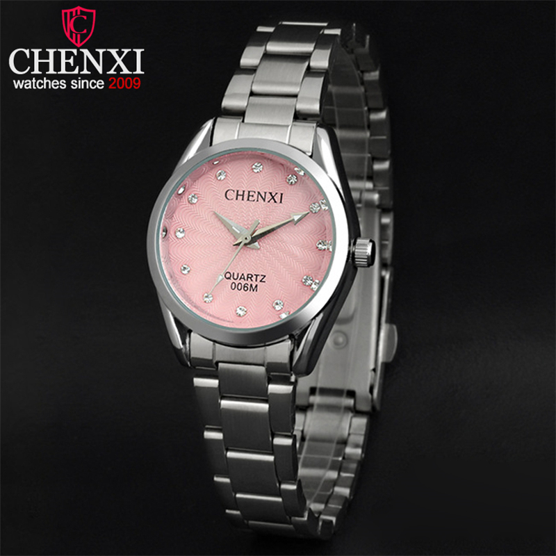 3 fashion colors lady quartz watch ladies rhinestone dial wristwatch top brand luxury women for Watches brands for lady