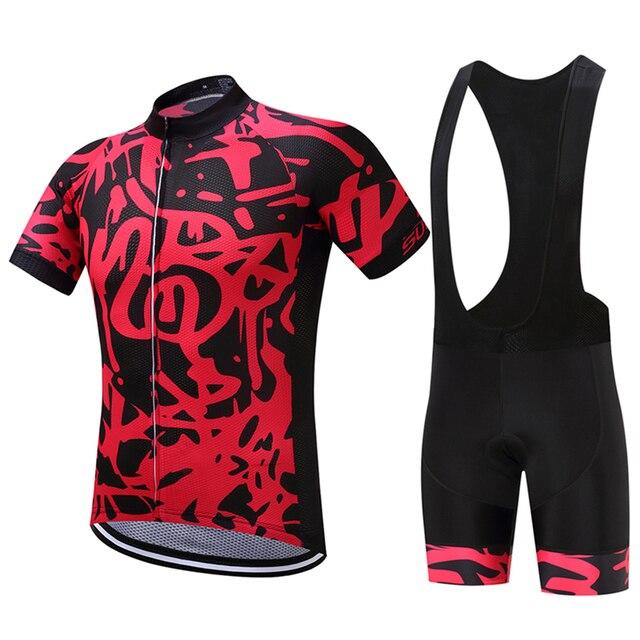 FUALRNY Rafael Pro Summer Cycling Jerseys Set Mountain Bicycle Clothing  Maillot Ropa Ciclismo Racing Bike Clothes Sportswear 2c2901292
