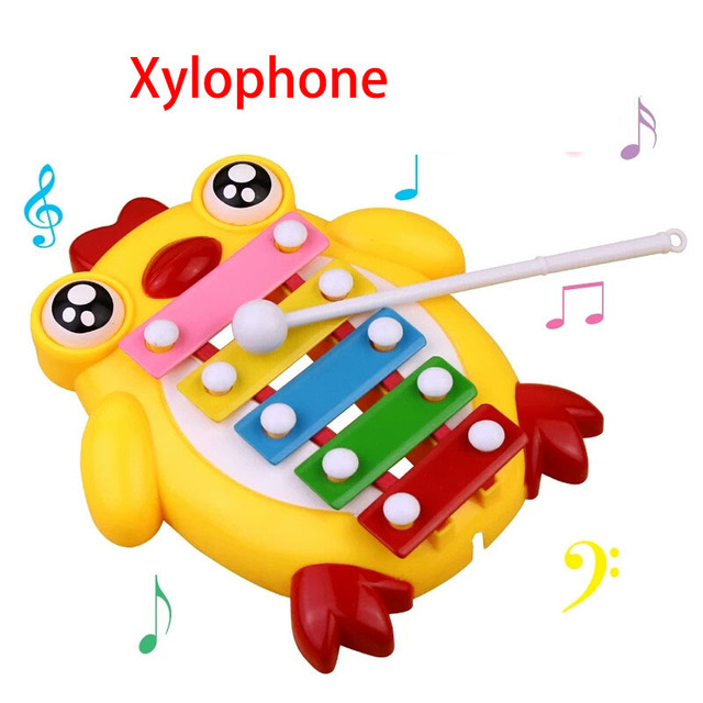 Children Musical Wisdom Keyboard Instrument Educational Toys With 8