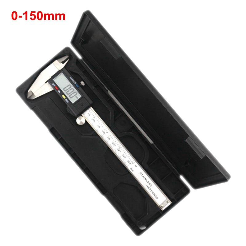 High quality 0-150mm Measuring Tool Stainless Steel Caliper Digital Vernier Caliper Gauge Micrometer Paquimetro Messschieber  цены