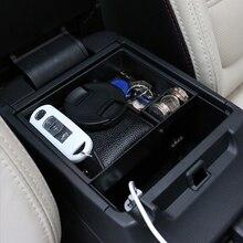 Wewnętrzny podłokietnik samochodowy dodatkowy schowek konsola środkowa Organizer Box dla Mazda 6 Atenza 2013 2017 Car Styling