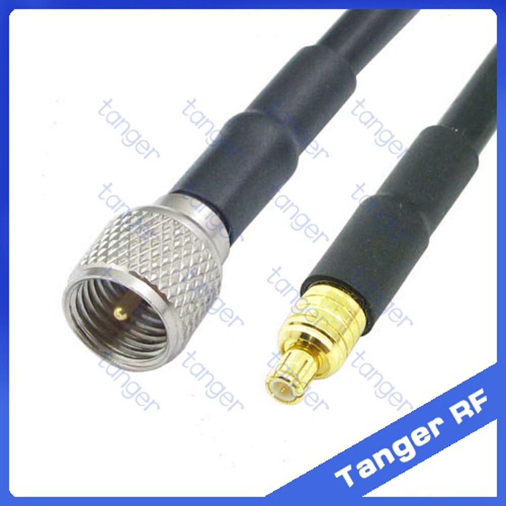 Hot Selling Tanger MCX male plug to PL259 Mini UHF male plug connector straight RF RG58 Pigtail Jumper Coaxial Cable 20inch 50cm factory sales rf coaxial cable f to mcx connector f female to mcx male right angle plug rg316 pigtail cable 15cm free shipp