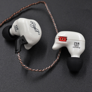 Image 5 - KZ ZSR Six Drivers In Ear Earphone Armature And Dynamic Hybrid Headset HIFI Bass With Replaced Cable Noise Cancelling Earbuds