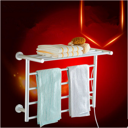 Electric heating towel rack Aluminum heated Towel dryer Towel warmer Toalheiro Electrico wall mounted supporter home appliances