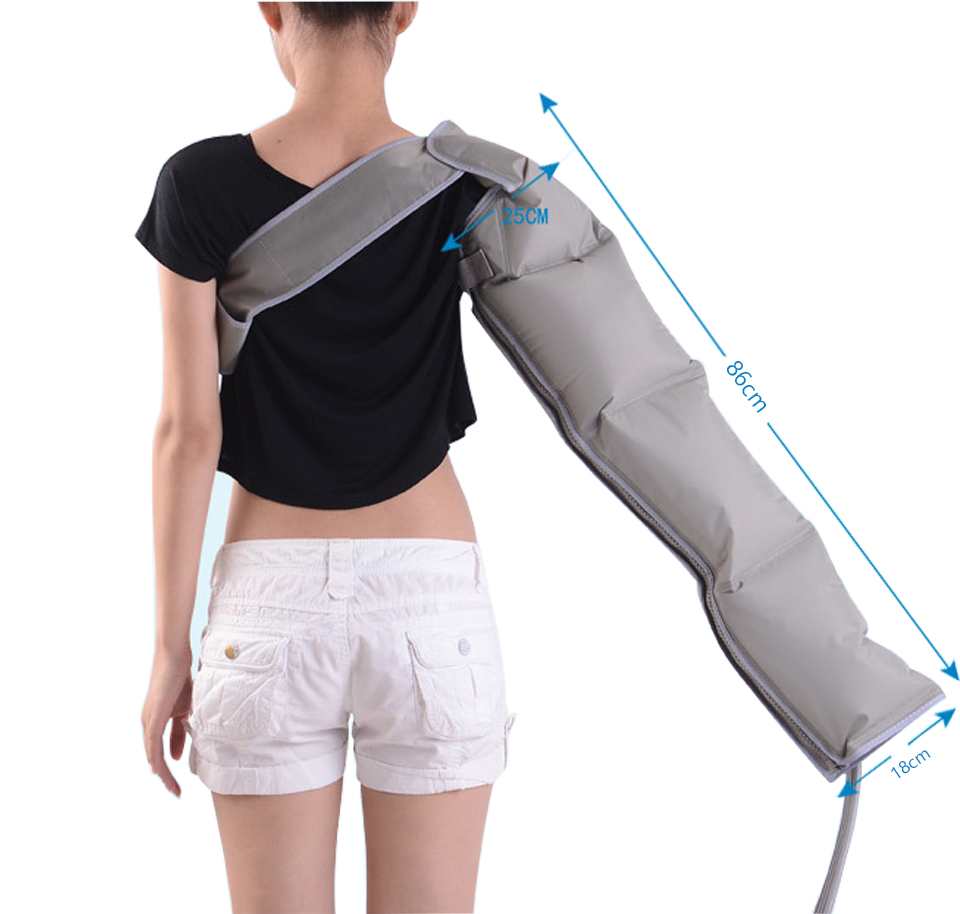 Pneumatic massage arm accessories electric air compression massager accessory single for arm