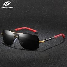 DIGUYAO Brand Classic Men Square Aluminum Polarized Fishing Sunglasses Top Quality Outdoor Sun Glasses Hiking Drive