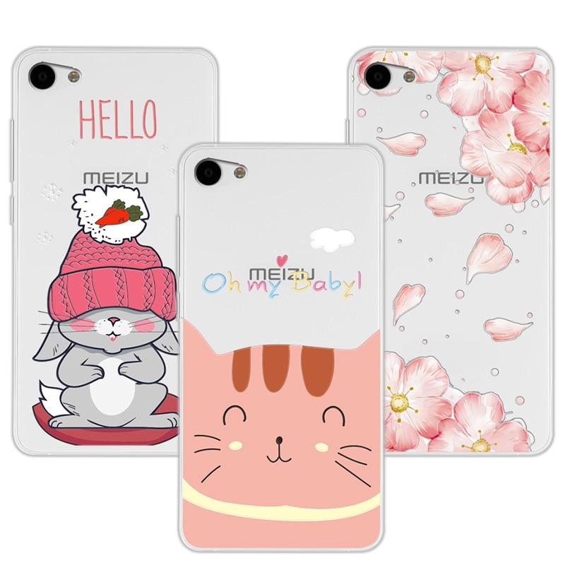 "100% Quality 3d Relief Lace Flowers Case Cover For Meizu U10 Meilan U10 Soft Silicone Cute Cat Case For Meizu U10 U 10 5.0"" Coque+free Gift Unequal In Performance"