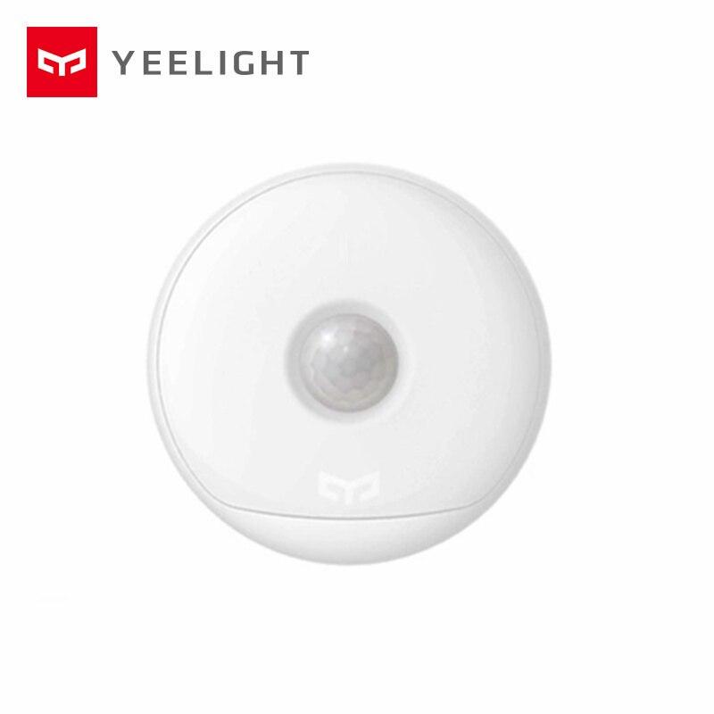 Xiaomi mijia yeelight luz nocturna USB cargador versión ganchos, uso 120 día una carga, sensor de cuerpo humano xiaomi mi smart home Kit