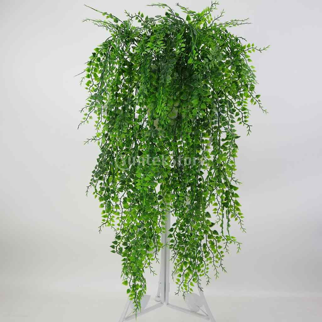 1 Bos 75 Cm Kunstmatige Weeping Ivy Wijnstok Planten Outdoor Indoor Opknoping Decor