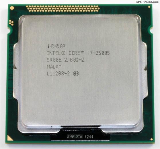 Intel Core i7 2600s 2 8GHz Quad Core Processor 8MB 65w LGA 1155 i7 2600s cpu