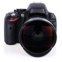 8mm F/3.5 Ultra Wide Angle Fisheye Lens for Nikon DSLR Camera D3100 D3200 D5200 D5500 D7000 D7200 D800 D700 D90 D7100 free ship