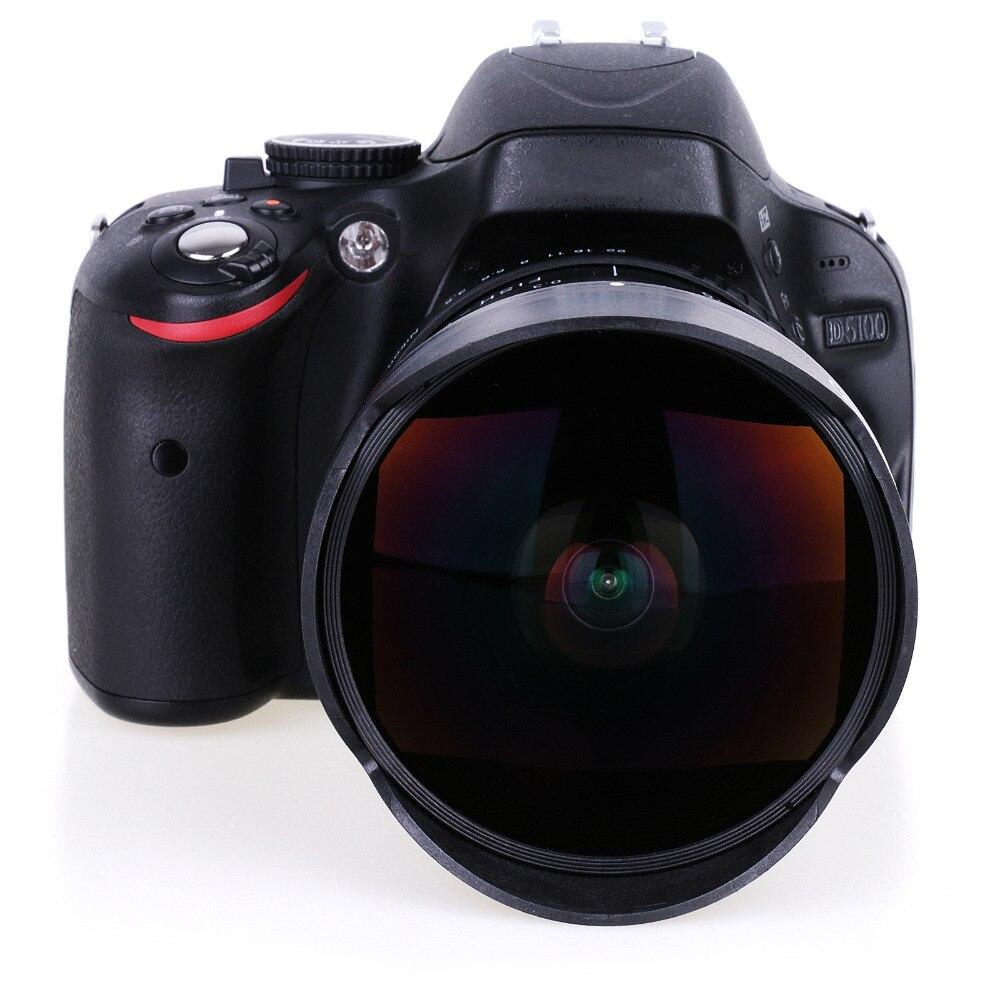 8mm F/3.5 Ultra Wide Angle Fisheye Lens per Nikon DSLR Macchina Fotografica D3100 D3200 D5200 D5500 D7000 D7200 d800 D700 D90 D7100 libera la nave8mm F/3.5 Ultra Wide Angle Fisheye Lens per Nikon DSLR Macchina Fotografica D3100 D3200 D5200 D5500 D7000 D7200 d800 D700 D90 D7100 libera la nave
